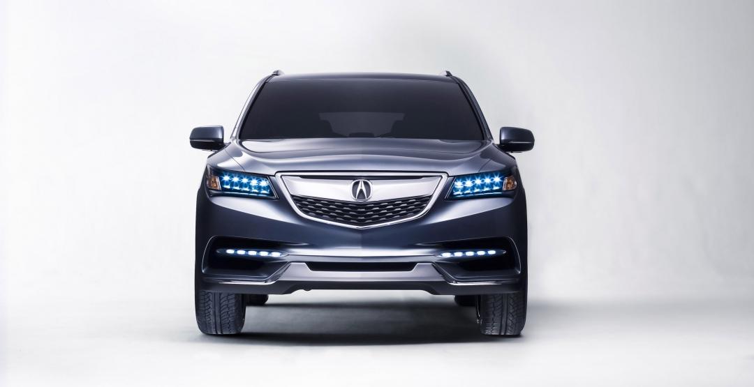 Обновленную Acura RDX покажут в феврале