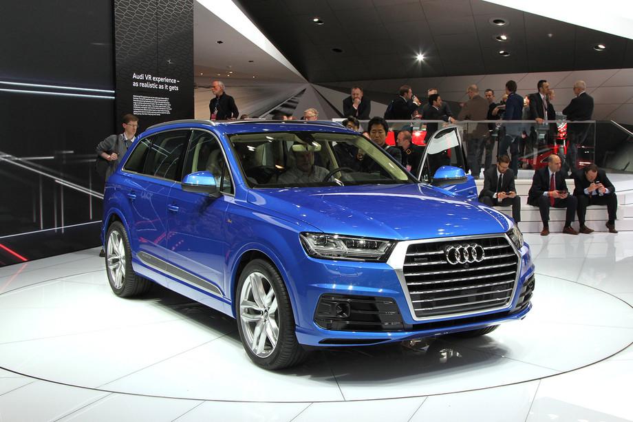 Новый Audi Q7: премьера в Детройте