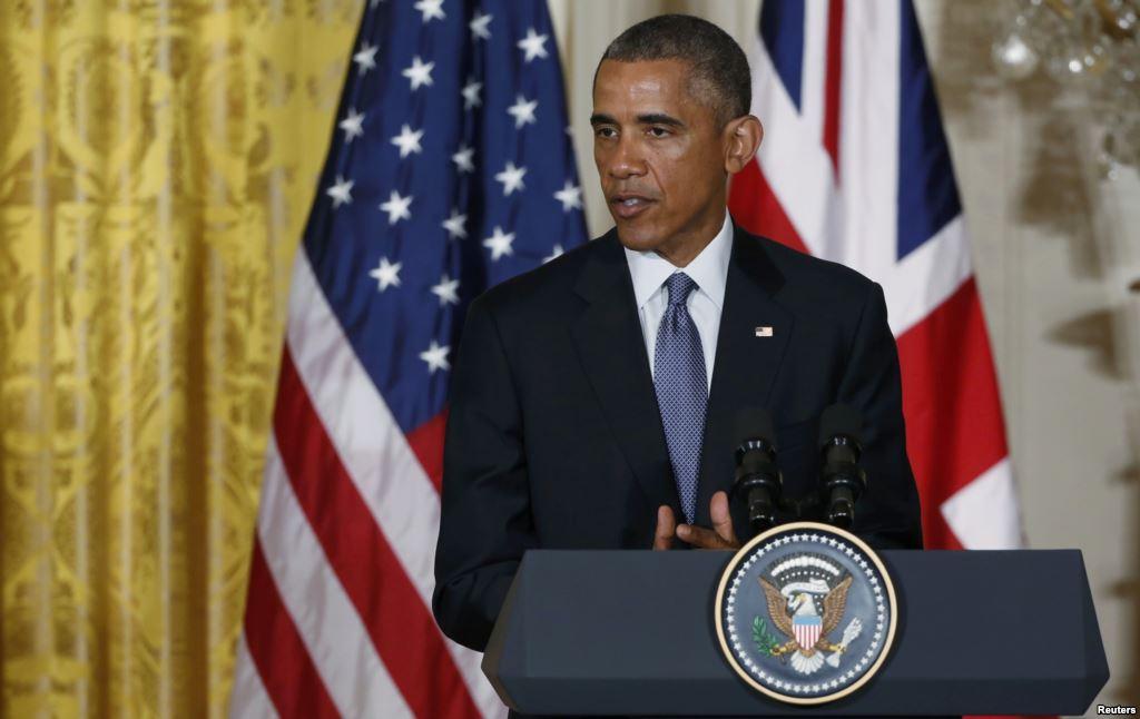 Барак Обама у Білому домі. 16 січня 2015 року