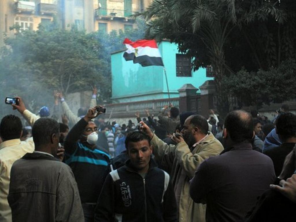 Беспорядки в Египте.