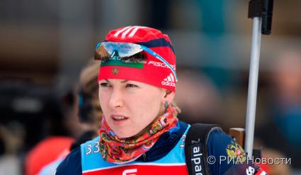 Общий зачет Кубка мира по биатлону. Екатерина Глазырина идет на 11-м месте