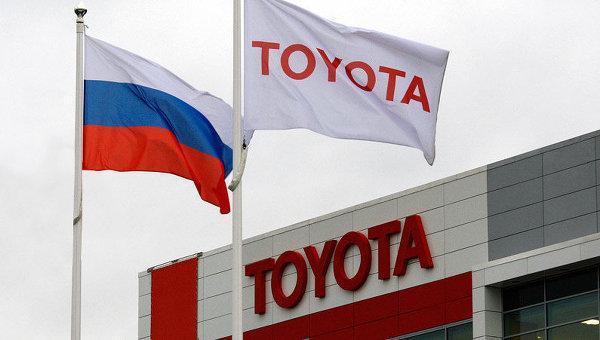 Toyota подняла цены на свои автомобили в России на 20%