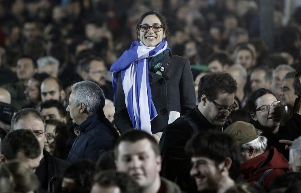 Марин Ле Пен: народ Греции нанес Евросоюзу «пощечину чудовищной силы»