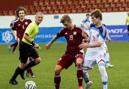 ВИДЕО: Молодежка Латвии уступила россиянам на Кубке Содружества