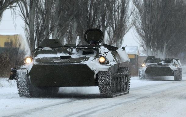 ОБСЕ вновь увидели на Донбассе бронетехнику без опознавательных знаков