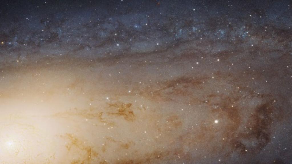 Сделан самый большой в истории снимок Туманности Андромеды