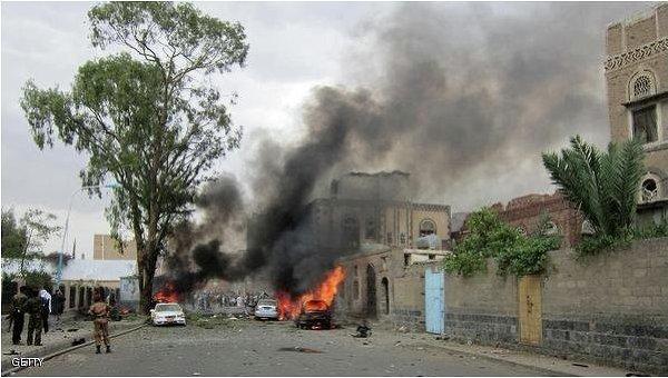 Взрыв в столице Йемена. Архивное фото