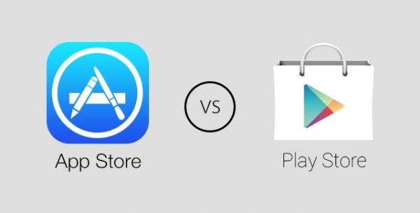 Google Play обошел Apple App Store.