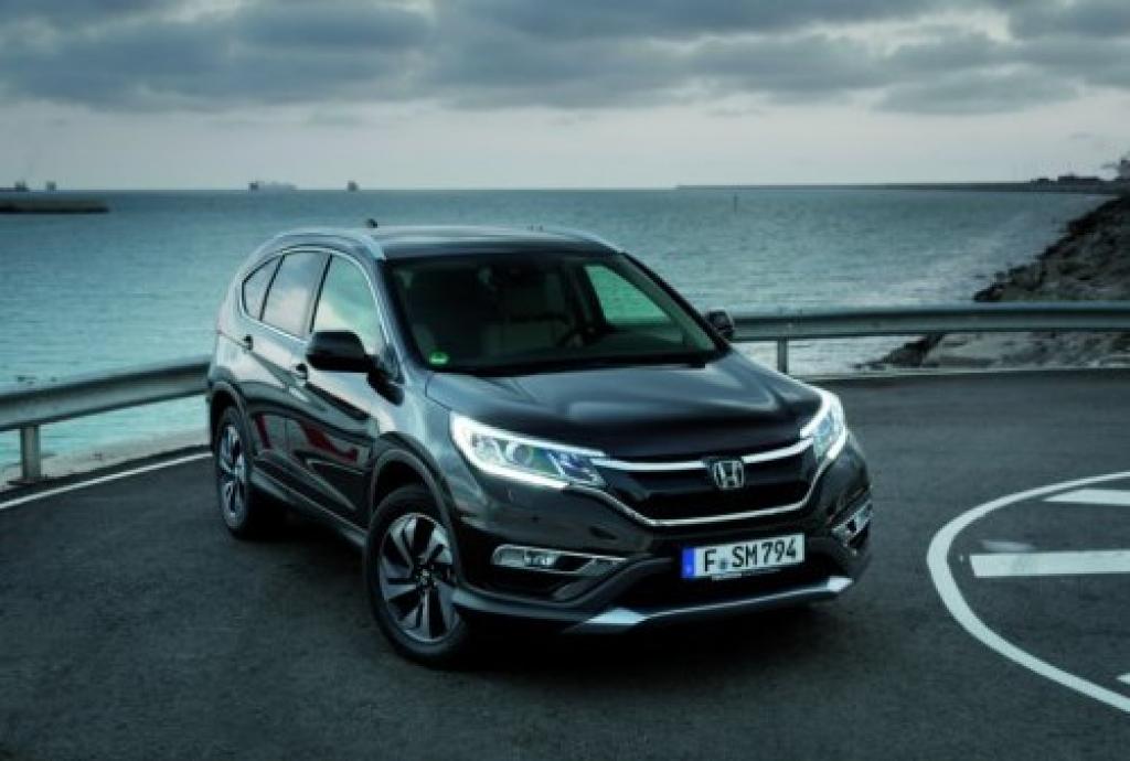 В скором времени в России представят обновленный Honda CR-V