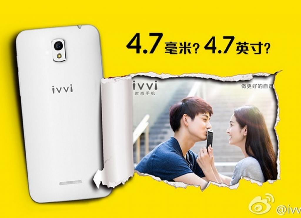 Ivvi потеснит Vivo X5 Max с позиции самого тонкого в мире смартфона
