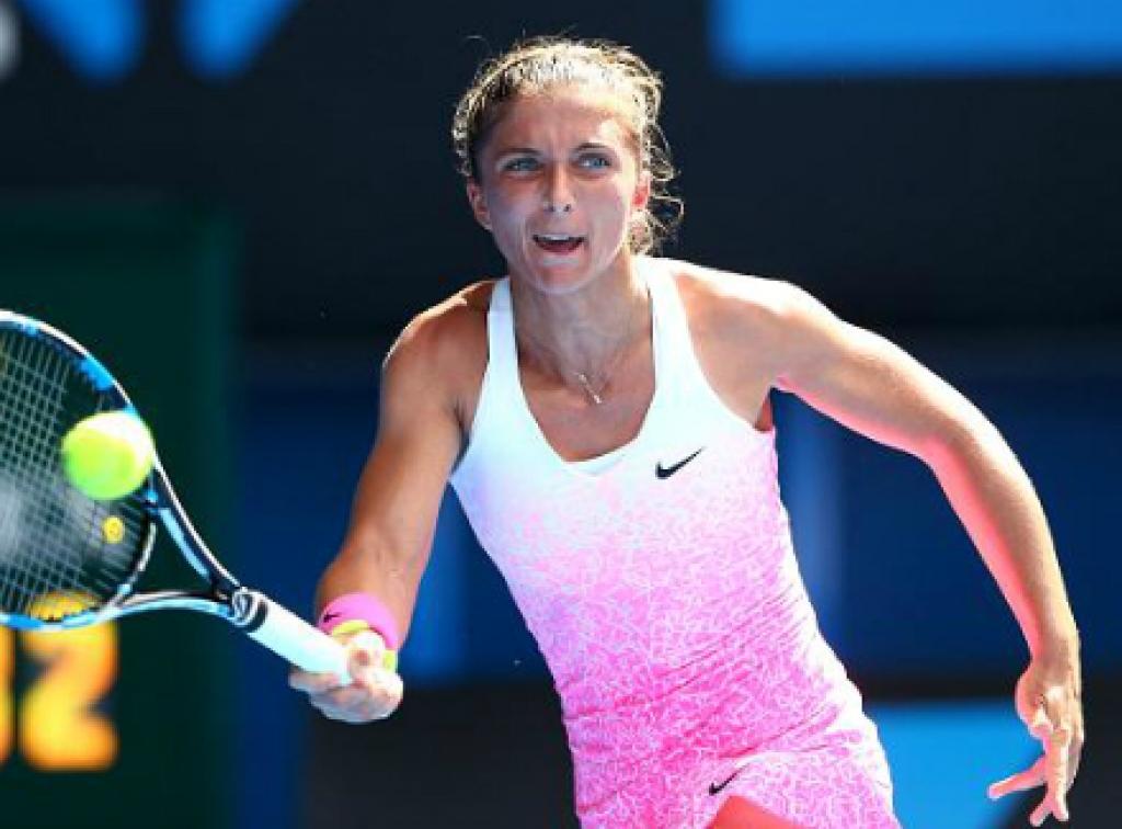 Сара Эррани потерпела поражение от Янины Викмайер на Australian Open