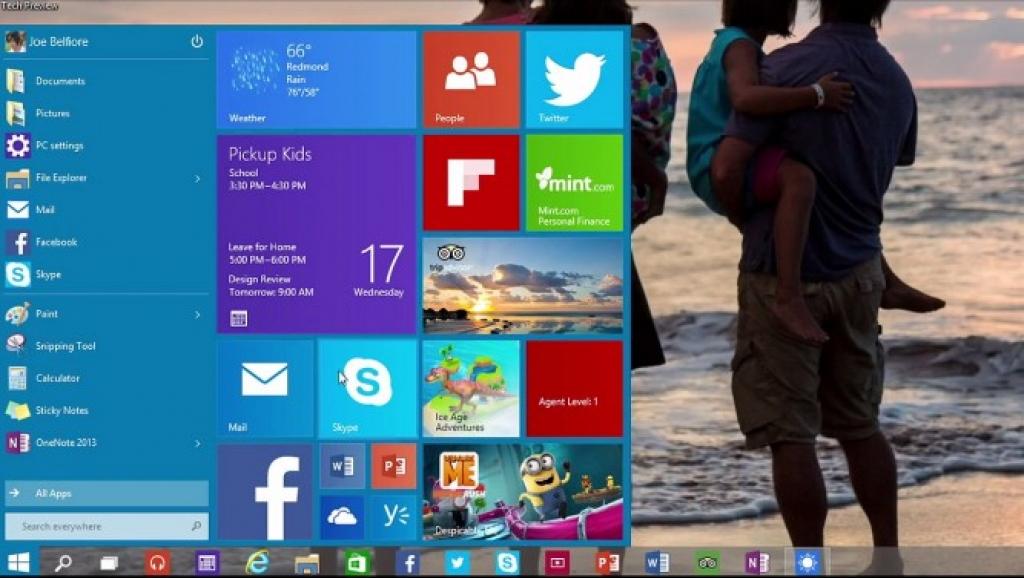 Microsoft рассказала о Windows 10, браузере Spartan и показала очки дополненной реальности (фото, ви...