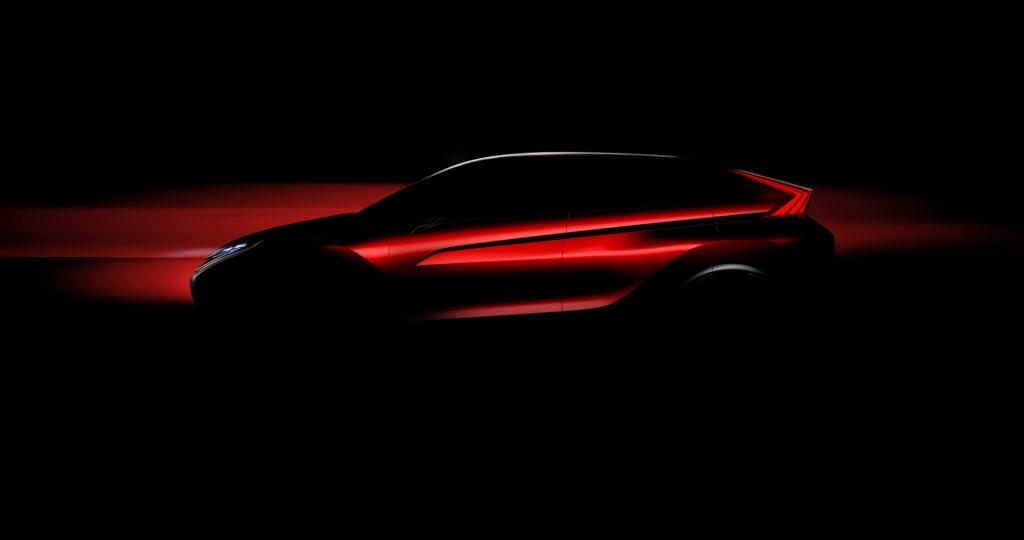 Mitsubishi намекнула на новый компактный кроссовер