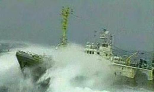 Взрыв произошел на военном корабле Южной Кореи