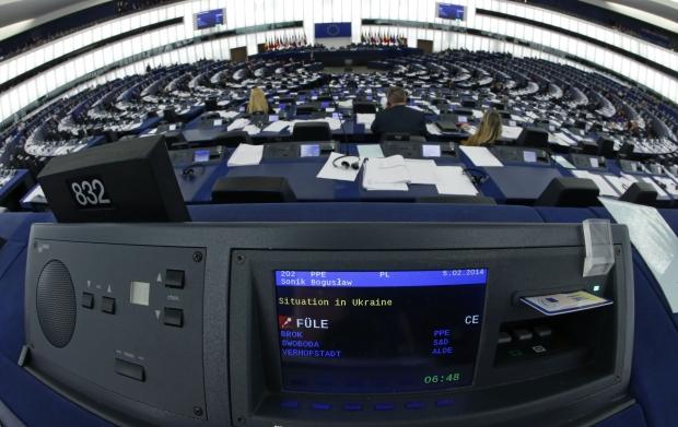 Большинство Европарламента поддерживает Украину