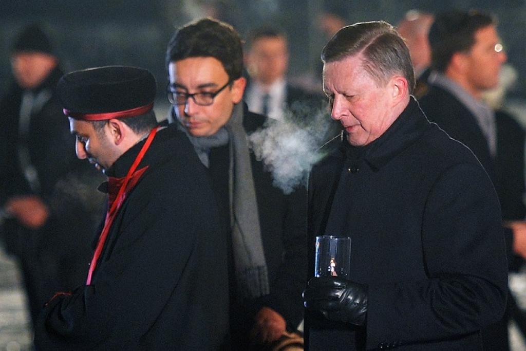 Сергей Иванов на памятных мероприятиях в Освенциме