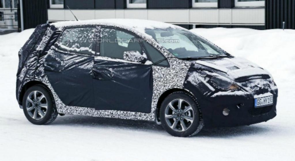 Обновленный Hyundai ix20 замечен в Швеции во время дорожных испытаний