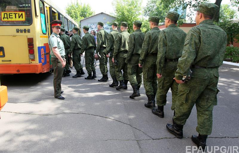 армия рф Call-up to the military service in Moscow