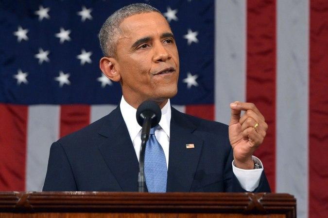 Президент США Барак Обама выступил с обращением к нации Антироссийские санкции США помогают отстаивать демократию на