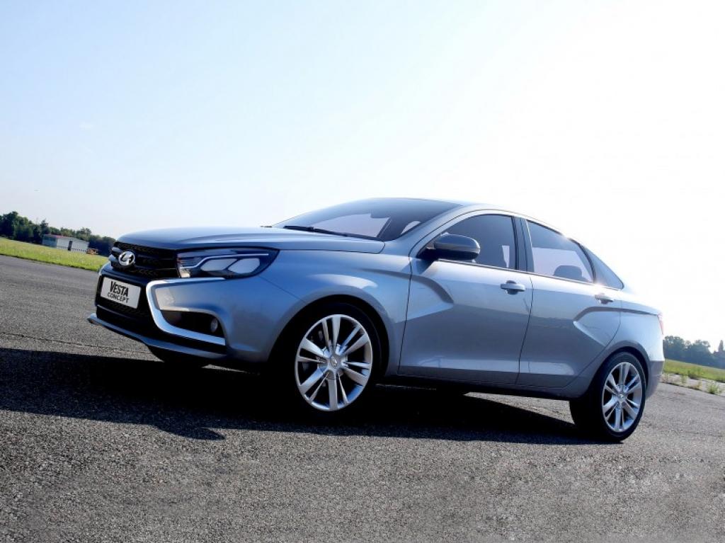 АВТОВАЗ в феврале соберет первый кузов серийной Lada Vesta