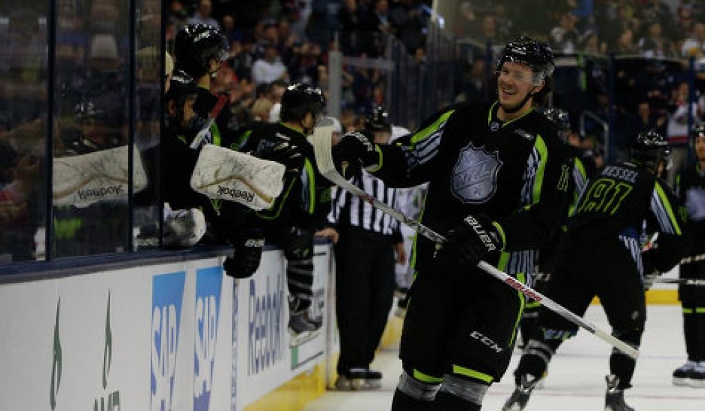 Райан Джохансен в Матче всех звезд НХЛ