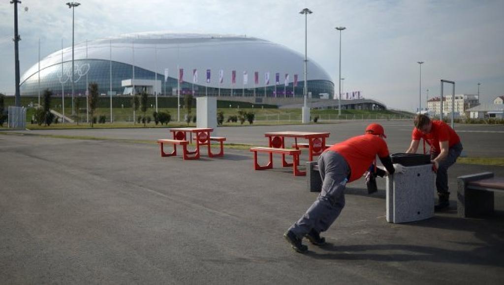 Сочи готовится принять Олимпийские игры. Архивное фото