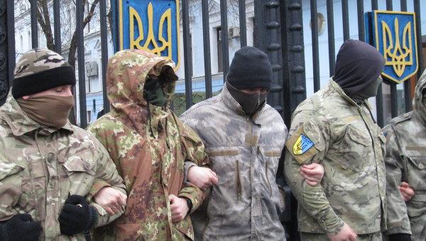 Силовики из батальона Айдар