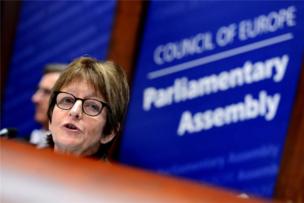 Президент Асамблеї Анн Брассер вимагає від РФ негайного звільнення Надії Савченко. Фото з сайту