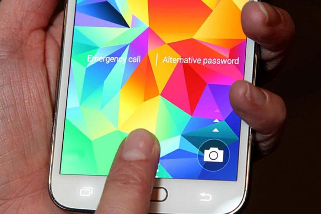 Samsung решила использовать технологию Touch ID в Galaxy S6