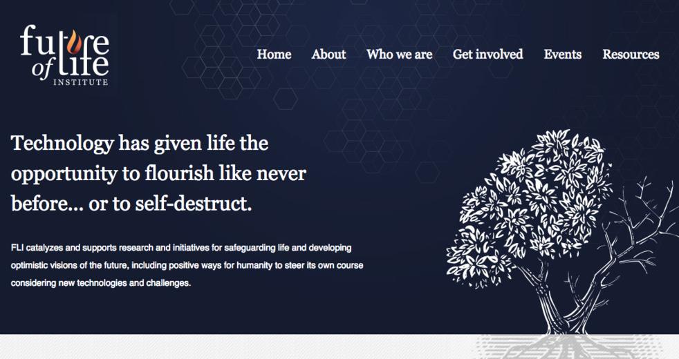 Сайт Института будущего жизни