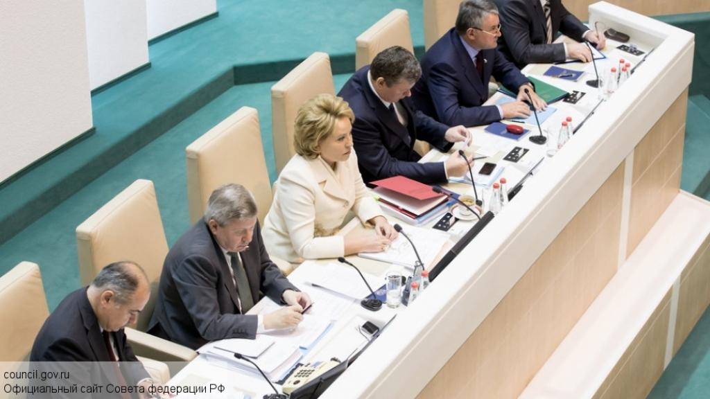 Сегодня Совет Федерации обсуждает антикризисный план правительства