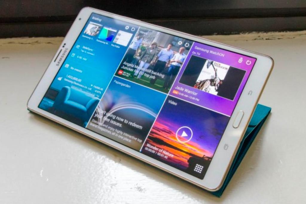 Samsung изменит пропорции экрана в планшетах