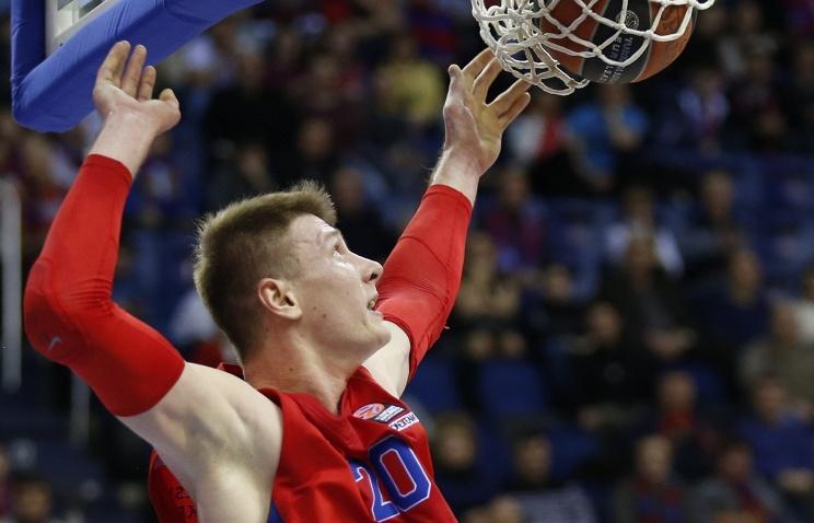 Баскетболисты ЦСКА одержали третью победу подряд в раунде топ-16 Евролиги