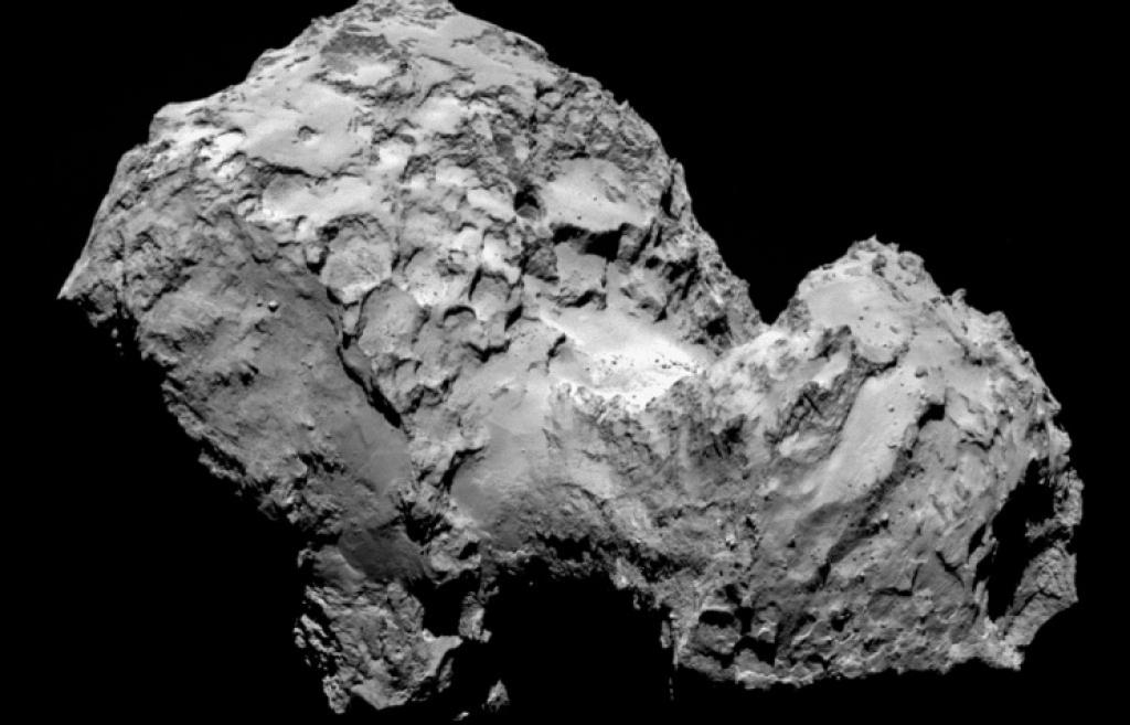 На комете Чурюмова-Герасименко нет воды, есть горы