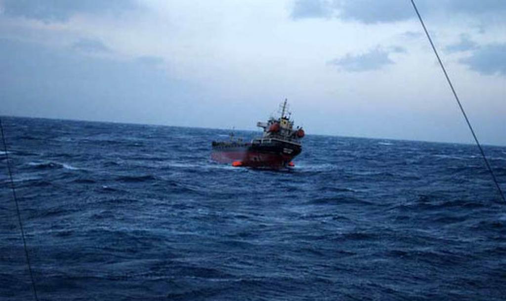 У берегов Южной Кореи столкнулись рыболовецкая шхуна и грузовое судно