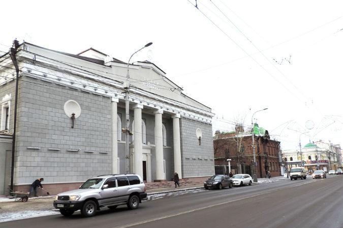 В Красноярске театр имени Пушкина откроется после реконструкции в феврале