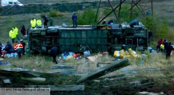 При столкновении двух автобусов в Зимбабве погибли 25 человек