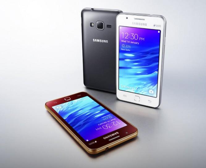 Samsung представила смартфон Z1 на базе Tizen