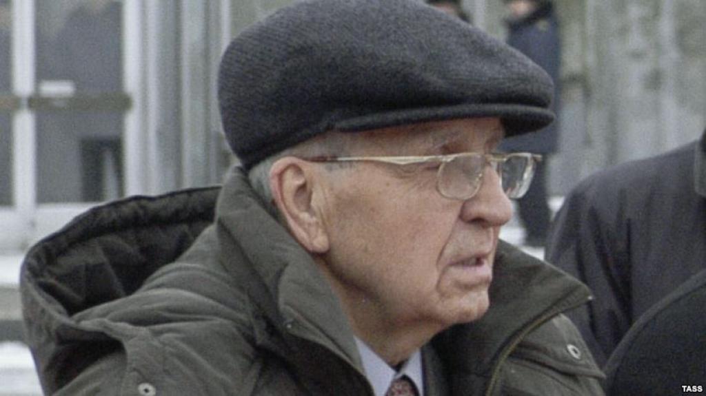 Ветеран Иван Мартынушкин, участник освобождения Освенцима. Краков, .