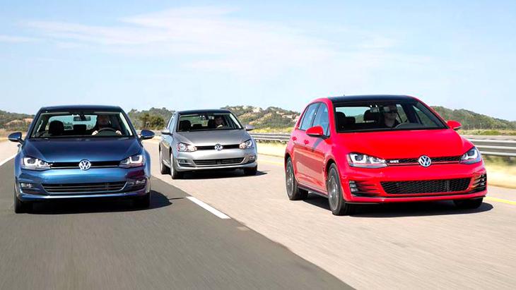 Volkswagen Golf и Golf GTI