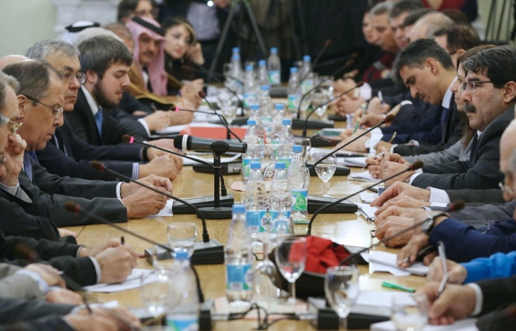 Встреча главы МИД РФ С.Лаврова с представителями сирийской оппозиции