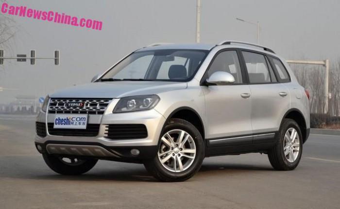 Volkswagen Touareg клонували китайці
