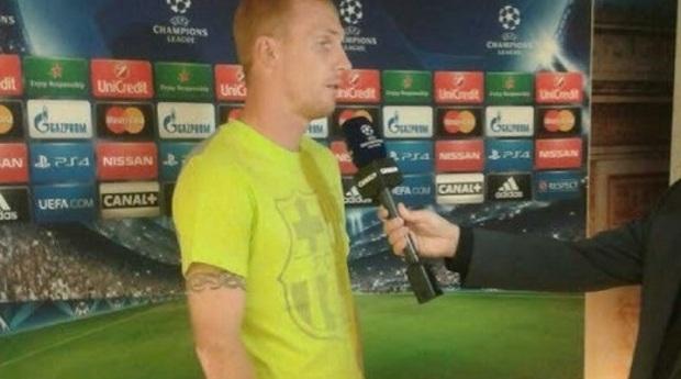 Защитник 'Барселоны' Жереми Матье подтвердил факт конфликта между Месси и Энрике